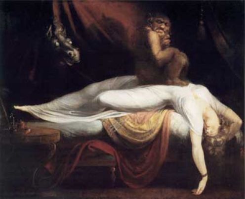 """The Nightmare"" by Henry Fuseli"